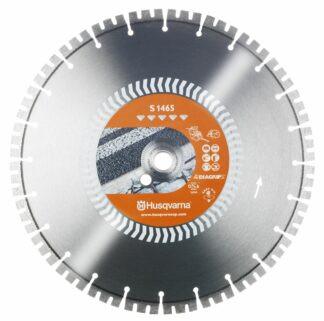 Диск алмазный.  бетон-асфальт S1465 14 350 мм -25.4/20 40X3.2X10