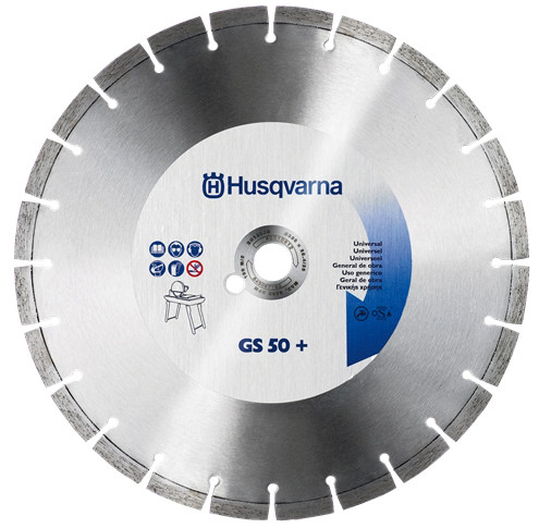 Диск алмазный. 12 Universal GS50T+.  300-25.4 40.0x2.8x12.5