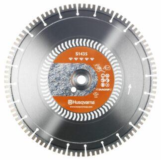 Диск алмазный. 14 гранит-бетон S1435 350-25.4/20 40x3.2x10