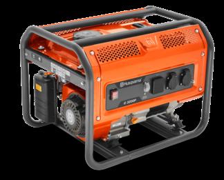 Генератор Husqvarna G3200P (Двигатель Husqvarna. 212cм3. ручной запуск. 3 кВт(макс.). 230В. 50Гц)