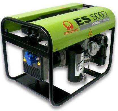 Миниэлектростанция портативная бензиновая PRAMAC  ЕS5000 Двигатель Honda GX 270  Номинальная мощность. КВА 4.2 Напряжение 230 В