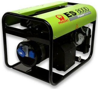 Миниэлектростанция портативная бензиновая PRAMAC ЕS8000 Двигатель Honda GX 390 Номинальная мощность. КВА 7.2 НАПРЯЖЕНИЕ 230 Вольт