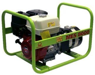 Миниэлектростанция портативная бензиновая PRAMAC MES8000 Двигатель Honda GX 390 Номинальная мощность. КВА 7.0 400 V 50Hz (4.0 КВА 230V 50Hz)