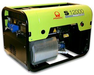 Миниэлектростанция портативная бензиновая PRAMAC  S12000  Двигатель Honda GX630  Номинальная мощность. КВА 10