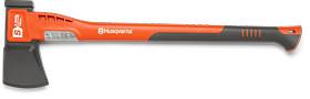 Топор-колун большой HUSQVARNA S2800. 70 см. пластиковая рукоятка. с пластиковым чехлом на лезвие 5807614-01
